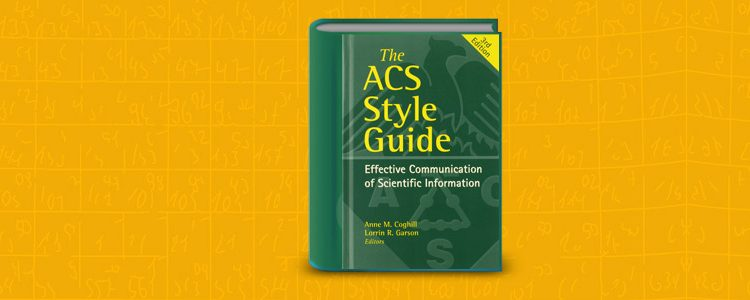 An overview of the acs style guide enago academy ccuart Choice Image