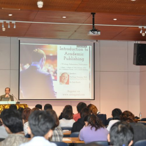 Author Workshop at Siriraj Hospital