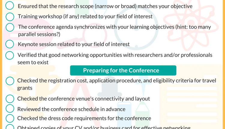 Checklist for Presenting at International Conferences (1)