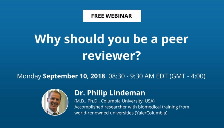 Why Should You Be a Peer Reviewer?