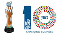 Enago - Bizz 2014 Award For Business Excellence