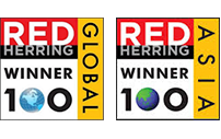 Enago - Red Herring top 100 Asia and Global Awards