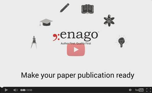 Enago Editing Services - Helping you get published!