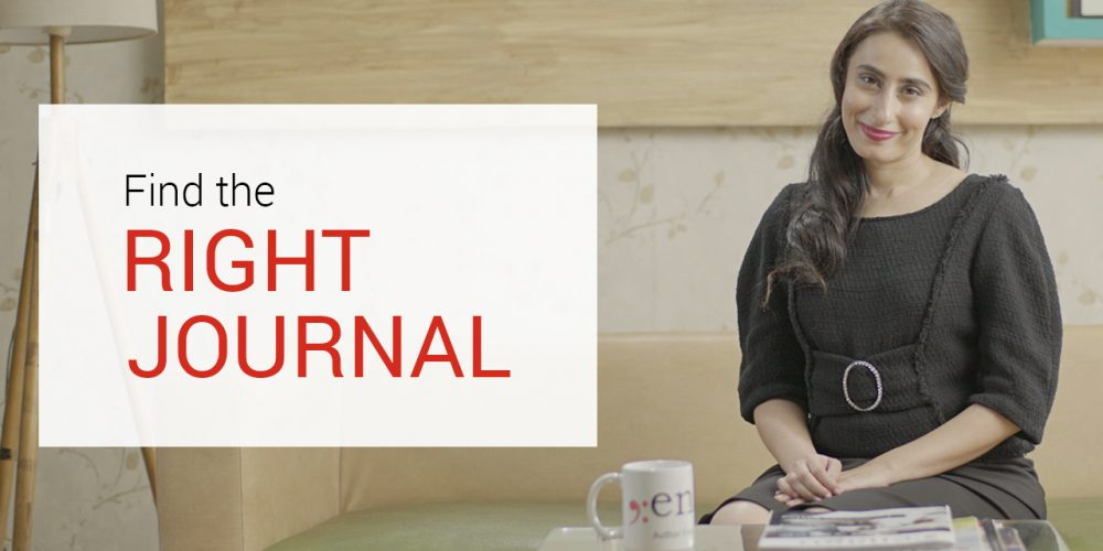 Find the right journal